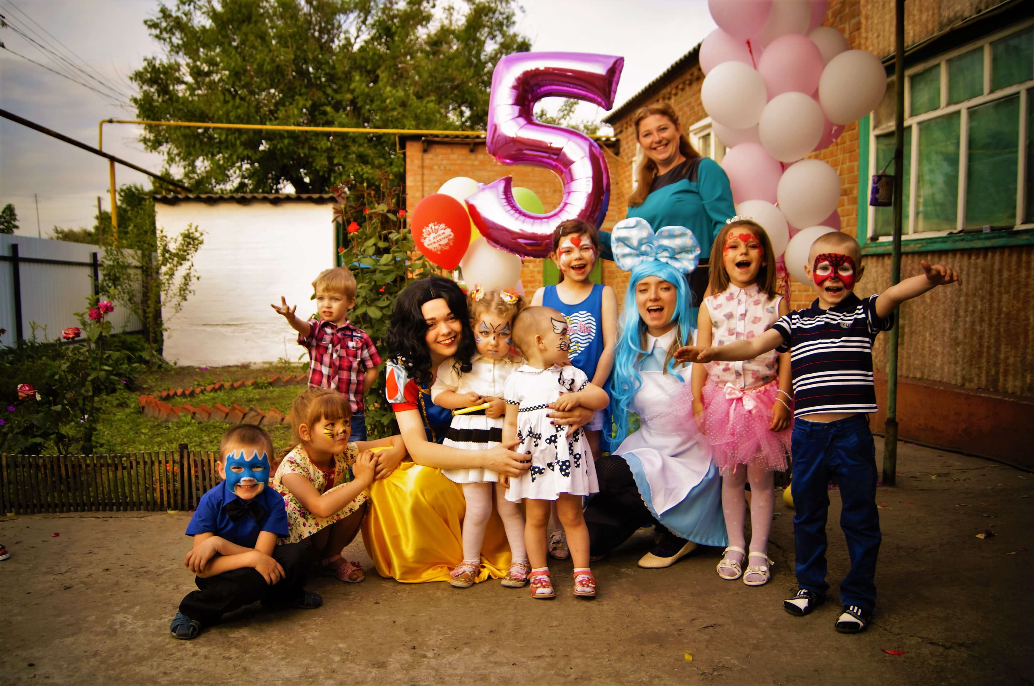 детский праздник в мариус