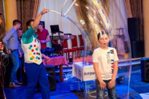 шоу мыльных пузырей ростов