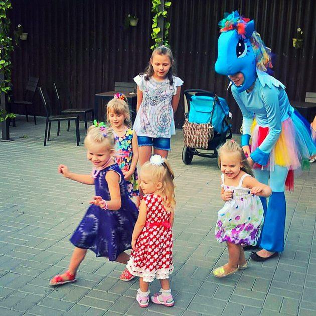 детский праздник аксай