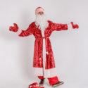 Дед Мороз и Снегурочка в Аксае