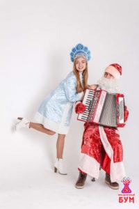 Дед Мороз и Снегурочка в Новочеркасске